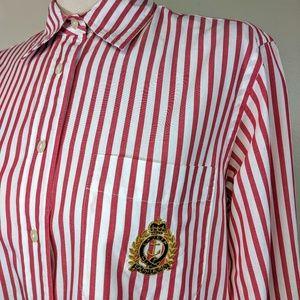 Vintage Ralph Lauren Polo Crest Blouse
